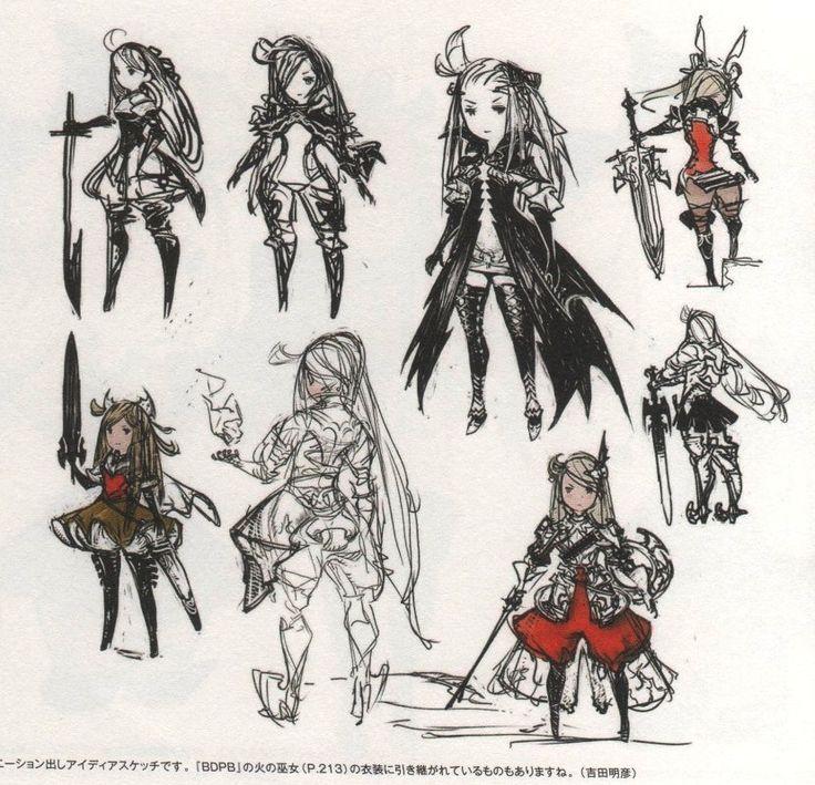 Bravely Default: Flying Fairy - Concept Art