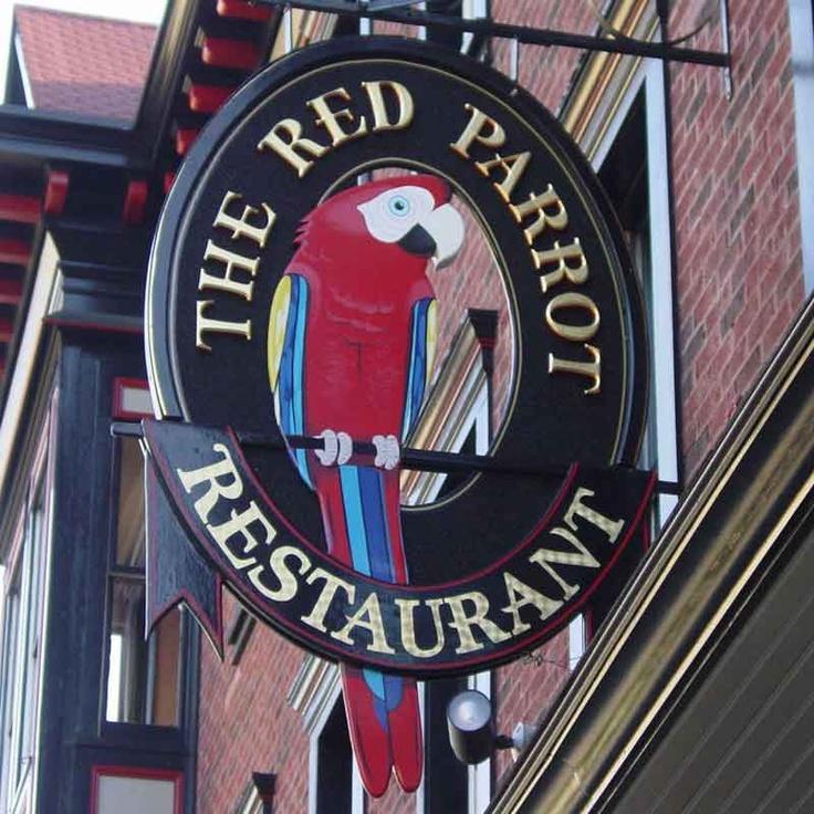 The Red Parrot Restaurant, Newport, Rhode Island                              …