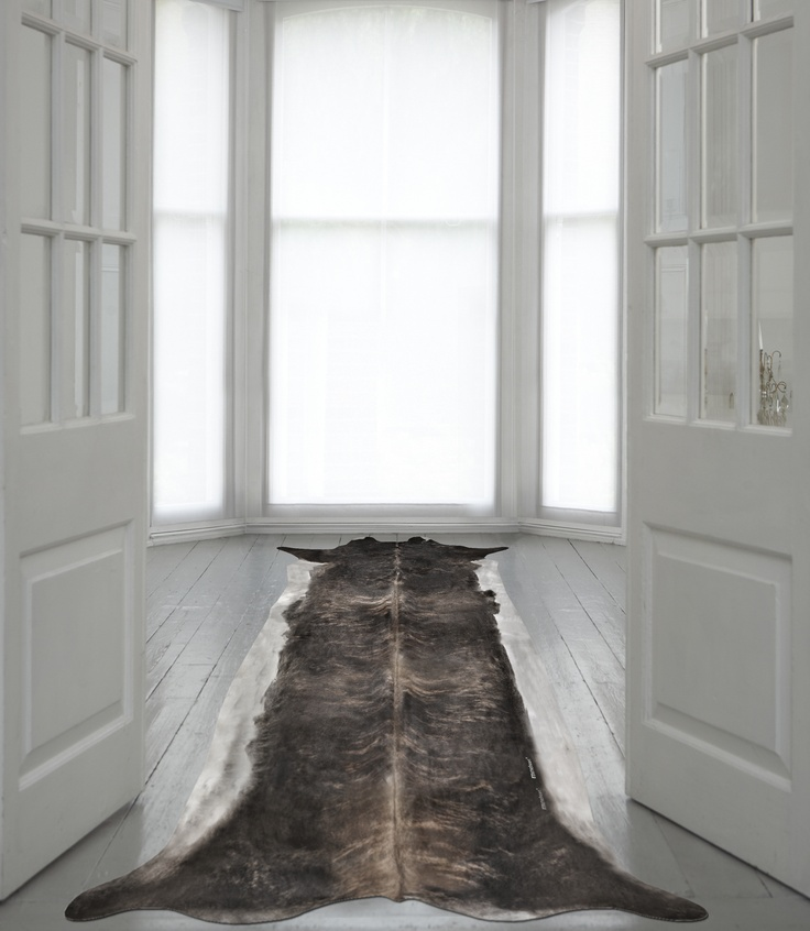 super long stretched cowhide by Young and Batttaglia £453Decor, Stretch Cowhide, Floors, Cowhide Rugs, Animal Prints, Accessories, Superlong Stretch, Design, Super Long