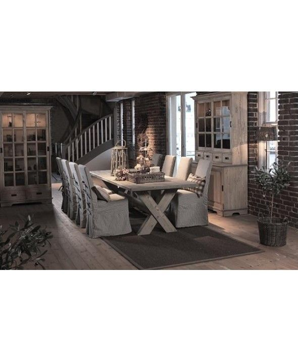 Ken Spisebord 200 Cm med 6 stoler