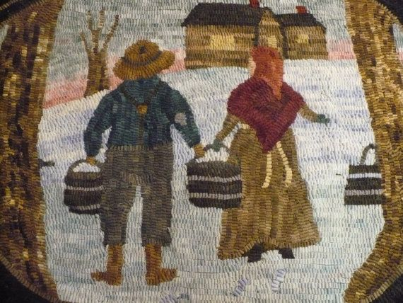 2156 Best Rug Hooking Images On Pinterest Penny Rugs