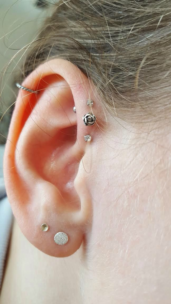 25+ trending Triple helix piercing ideas on Pinterest ...