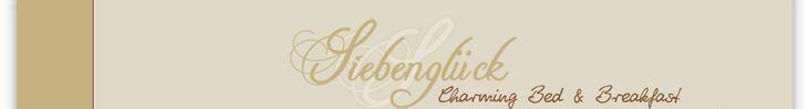 Kontakt \u203a Siebengl\u00fcck - Charming Bed  Breakfast