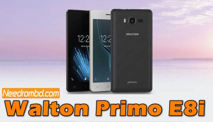 Walton Primo E8i Flash File Without password | Smartphone Firmware