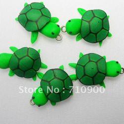 clay animals tortugas - model magic
