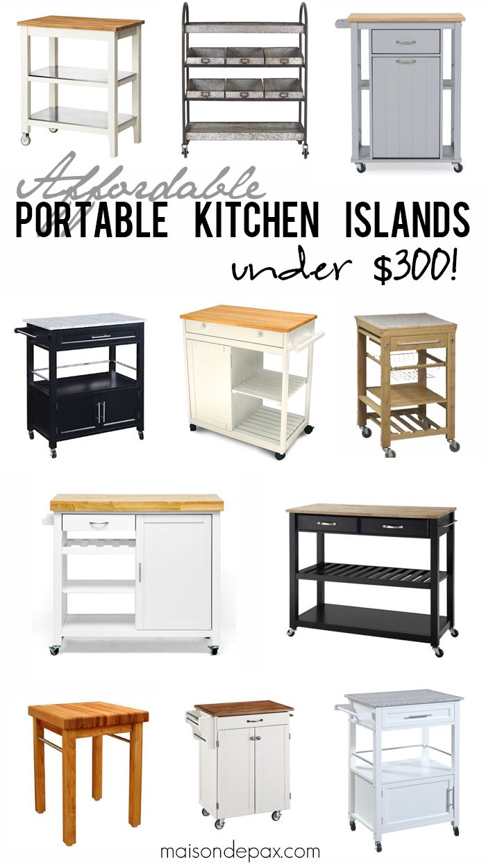 Portable Outdoor Kitchen Island: Best 25+ Portable Kitchen Island Ideas On Pinterest