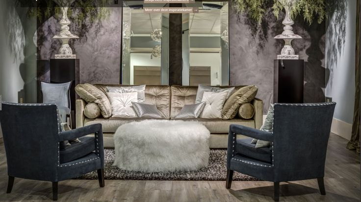 luce fauteuils belissimo hocker aviva de luxe bank maison la plume l baan collectie baan. Black Bedroom Furniture Sets. Home Design Ideas