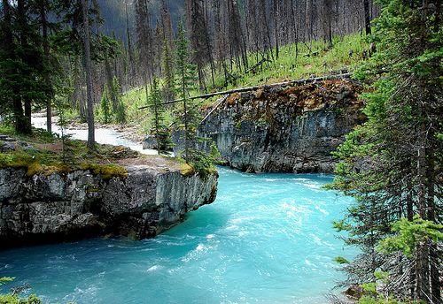Turquoise River, British Columbia, Canada