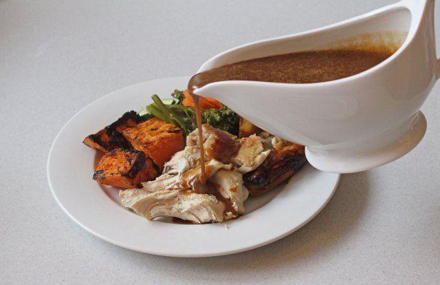 Thermomix recipe for #paleo (grain free) gravy!