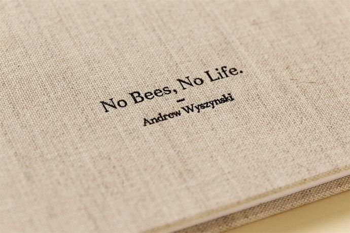 No Bees, No Life by Zé Studio for Maya Sunny Honey #graphicdesign
