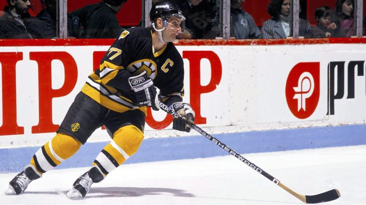 1980: Boston's Ray Bourque sets an NHL record for rookie defensemen with his 61st point of the season