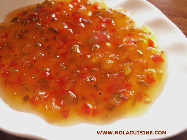 Pepper Jelly Recipe | Nola Cuisine  I'm thinking I could use this recipe as a base for crawfish jelly…?