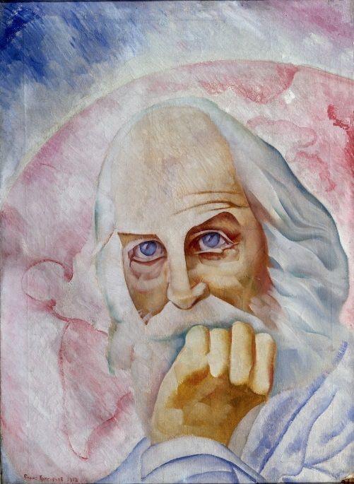 Walt Whitman by Boris Grigoriev (1918, Pskov museum).jpg