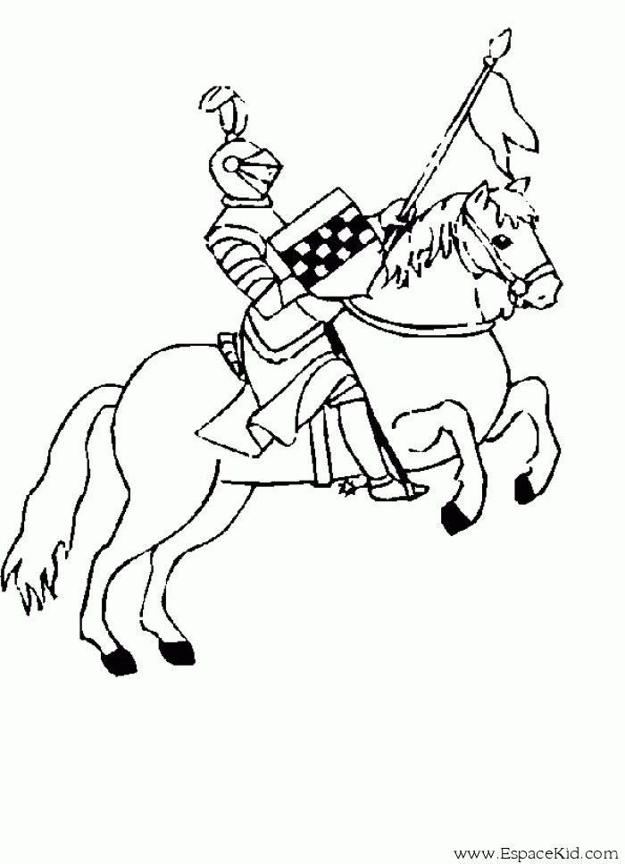Les 67 meilleures images du tableau anniversaire chevaliers sur pinterest anniversaires - Coloriage chateau chevalier ...