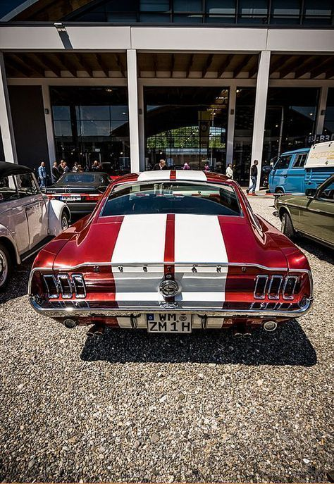 Mustang 1968 #mustangvintagecars #mustangclassiccars