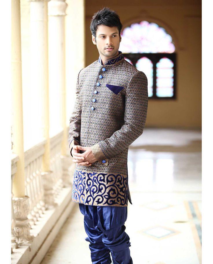 latest sherwani designs for groom - Google Search