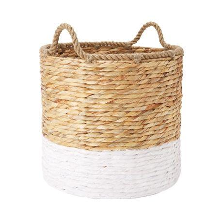 Lorne Basket Large with Rope Handles #thefreedomsale #freedomaustralia
