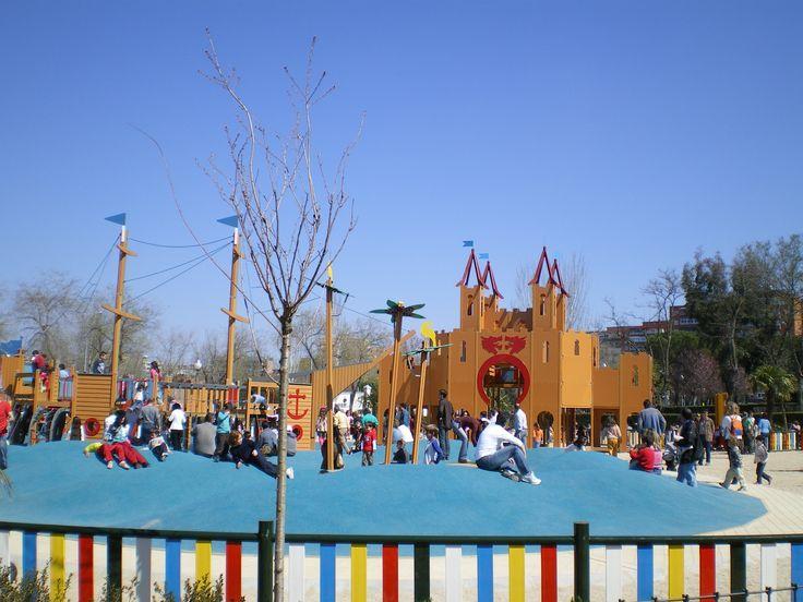 Parques para niños madrid