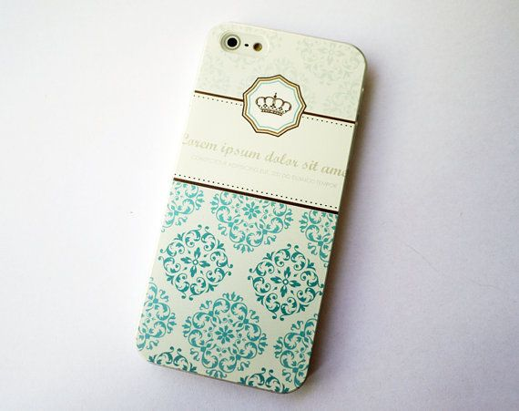 iphone 5 case iphone 5s case iphone 5 cases iphone 5s cases samsung galaxy note 3 case colored drawing blue flower crown iphone 5s case