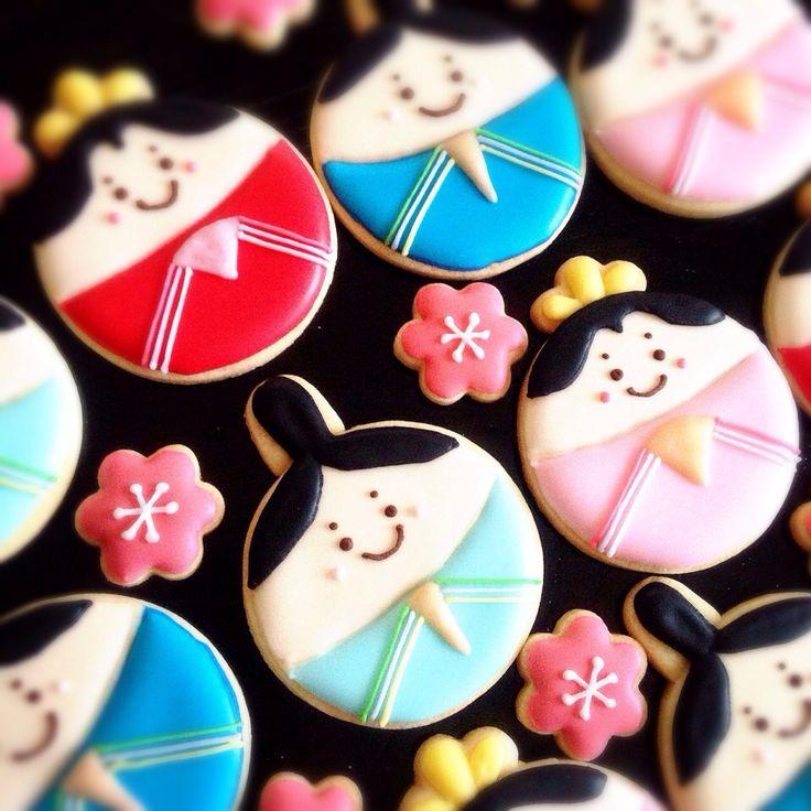 おひな様♡アイシングクッキー