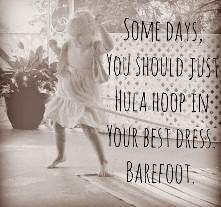 Quote | Barefoot | Dance