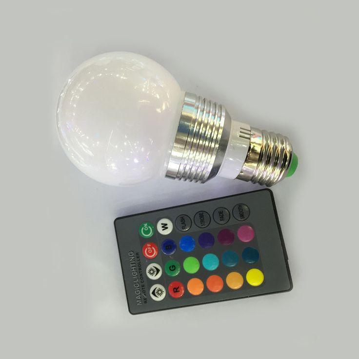 $144.50 (Buy here: https://alitems.com/g/1e8d114494ebda23ff8b16525dc3e8/?i=5&ulp=https%3A%2F%2Fwww.aliexpress.com%2Fitem%2F10piece-3W-RGB-Lampada-LED-Bulb-E27-E14-B22-85-265V-RGB-LED-Lamp-Spotlight-Lamparas%2F32692550010.html ) 10piece 3W RGB Lampada LED Bulb E27 E14 B22 85-265V RGB LED Lamp Spotlight Lamparas LED Light Bulb Spot Luz Christmas Lampadas for just $144.50
