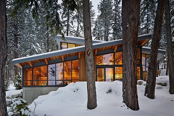 DeForest Architects: North Lake Wenatchee Cabin