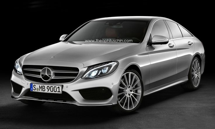 2015 Mercedes-Benz C-Class SportCoupe Rendered