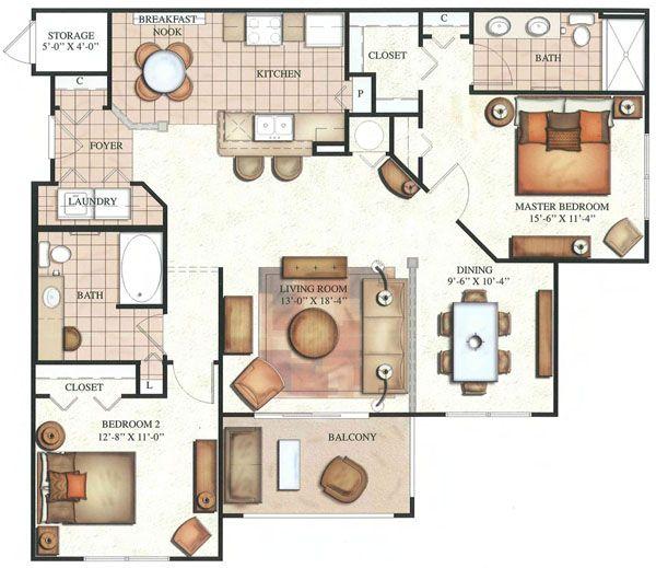 Floor Plan: HICKORY
