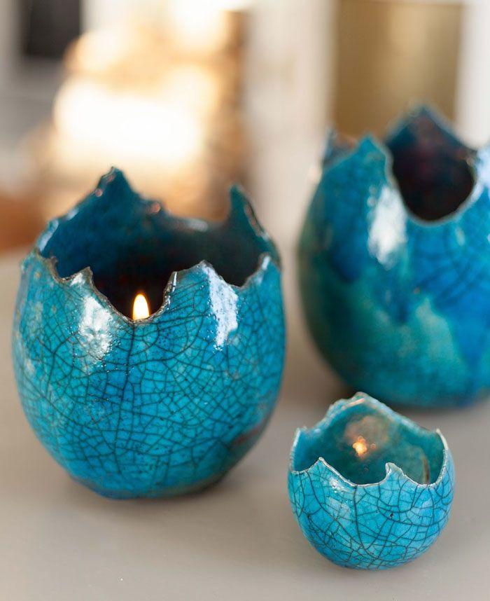 Dragon Egg Shell Candle Holders