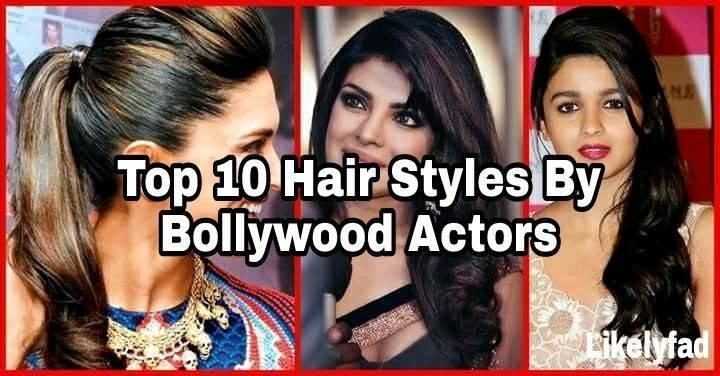 Bollywood has always been a trendsetter in our country Here is the list of top 10 Bollywood actors hairstyles that become atrend among us.