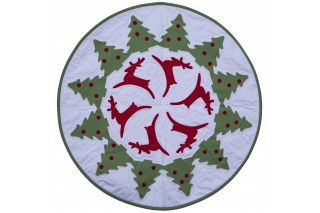 GO! Reindeer Dance Table Topper Pattern