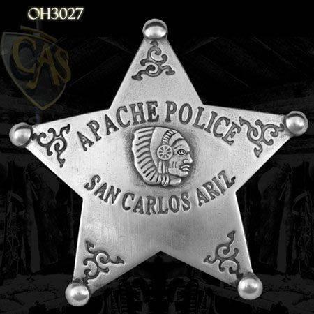 apache police - san carlos arizona....