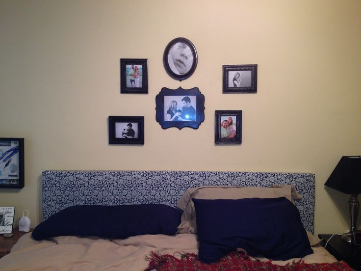 New hand made headboard and picture frames