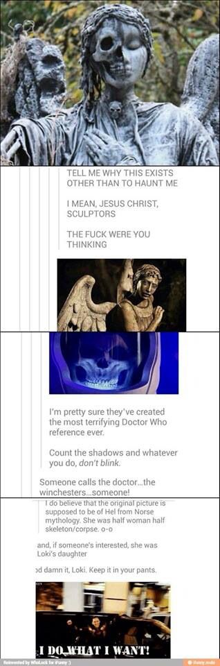 It's Doctor Who and Loki... at the same time!