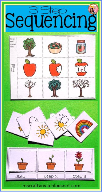 preschool sequencing games sequence cards for 3 step sequencing teaching 392