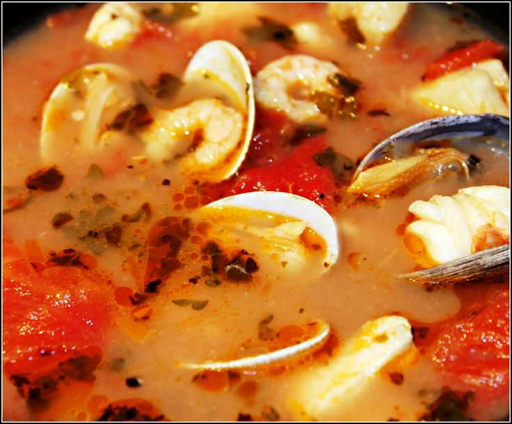 STEVE'S INCREDIBLE WILD ALASKA [4] SEAFOOD STEW (click on image for recipe)...