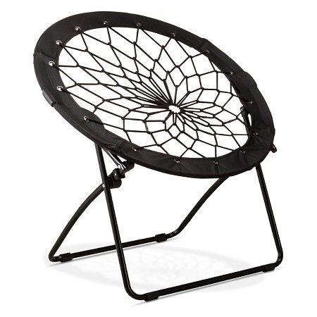 Room Essentials™ Bungee Chair - Black : Target