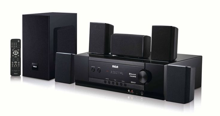 RCA Bluetooth Home Theater System #RCA