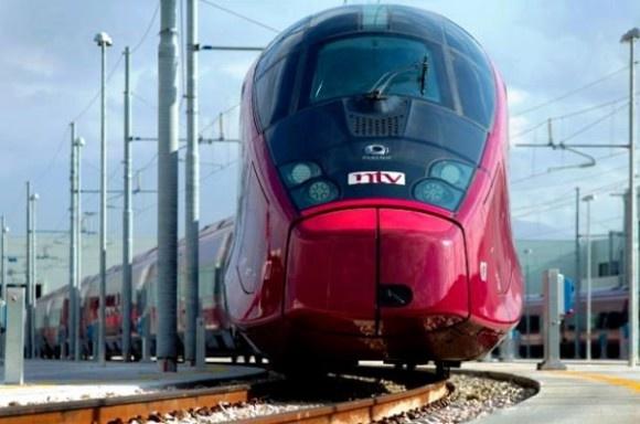 Italy gets a new Ferrari red high-speed train...   ..rh
