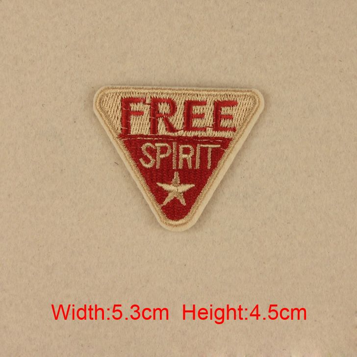 10 pcs/set 5.3*4.5CM fashion cloth badge patch badge embroidered Iron On Patches For Clothes Garment Applique DIY Accessory