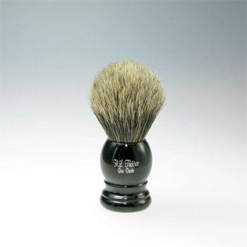 Thäter - Rasierpinsel Feiner Dachs II (4411/1, 21mm), schwarz