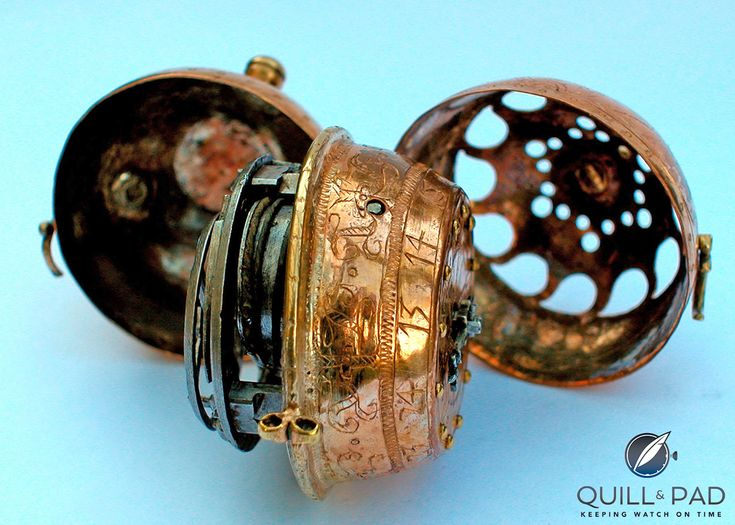 The World's Oldest Watch: A Peter Henlein Mystery From 1505 Solved. This is not the famed Nuremberg Egg (Nürnberger Ei) that was previously thought to be Henlein's first confirmed work. The watch I am talking about here has been dubbed the Pomander Watch (Bisamapfeluhr) and it has now been confirmed as the oldest known watch of the world thanks to a press conference that took place on December 2, 2014 in Nuremberg, Germany. The press conference was called to introduce the findings of a…
