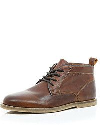 Brown Leather Boots for Men | Men's Fashion