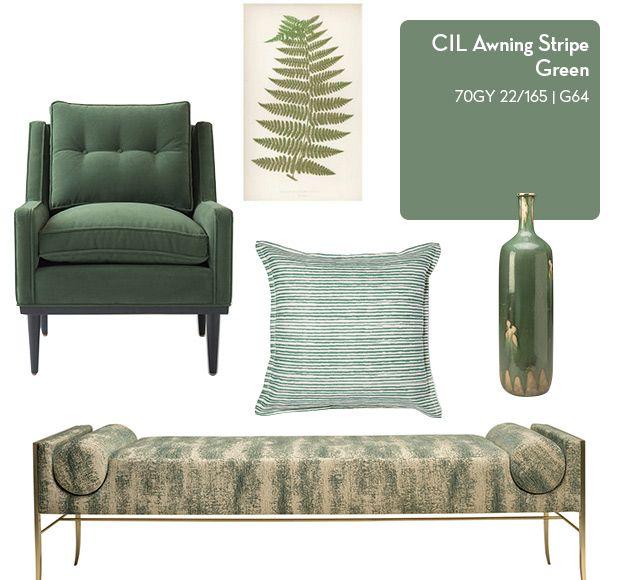 Vote for your favourite @CILPaints colour for a chance to win paint at houseandhome.com/mycilcolour! #MyCILColour is CIL Awning Stripe Green