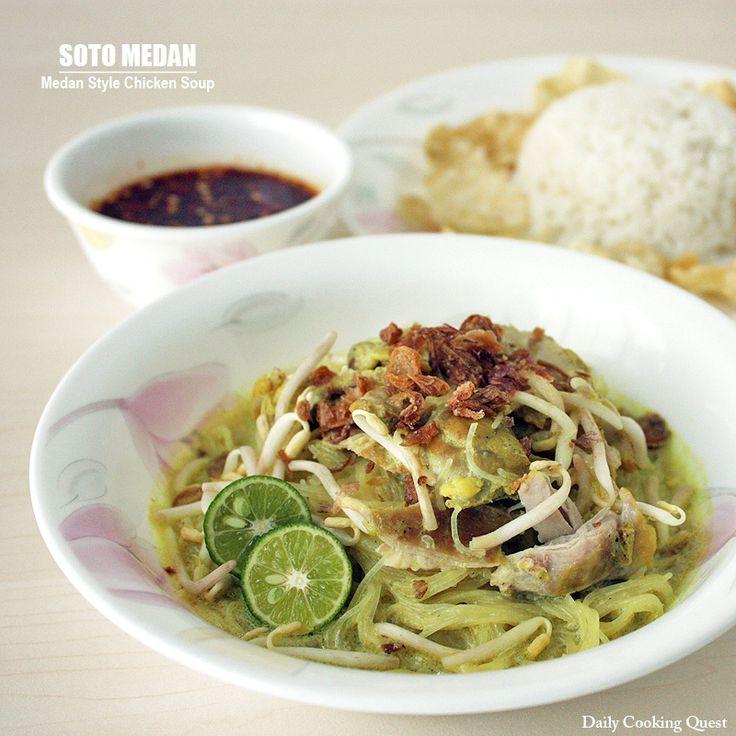 Soto Medan – Medan Style Chicken Soup