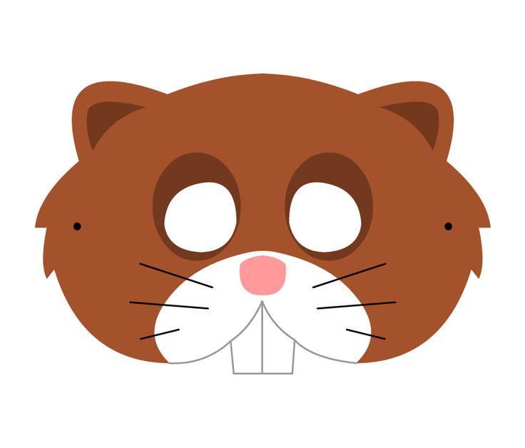 #Lactease ti regala gli animali del bosco!  Stampa e ritaglia il CASTORO! :-) --->  http://ow.ly/Jk0GL  #maschera #carnevale