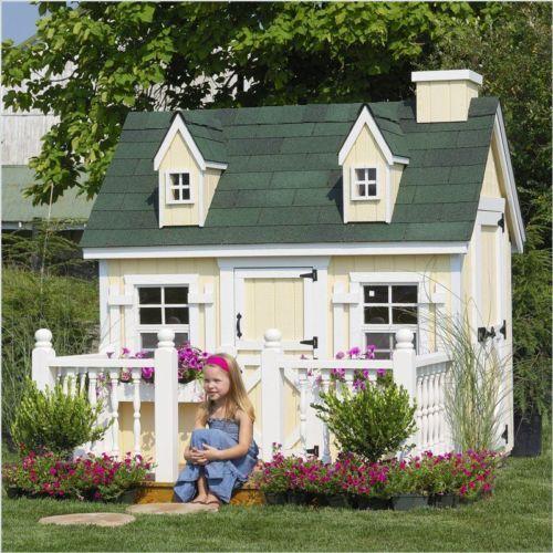 cape cod 4 x6 childrens wood playhouse kit w floor 4x6 ccp wpnk ebay