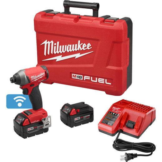 "Milwaukee 2757-22, M18 FUEL 1/4"" Hex Impact Driver with ONE-KEY - Kit  http://cf-t.com/product/milwaukee-2757-22-m18-fuel-14-hex-impact-driver-with-one-key-kit/"