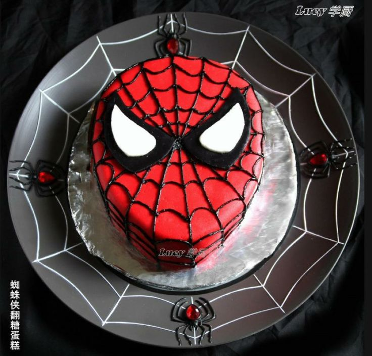 Spiderman cake - For all your cake decorating supplies, please visit craft…